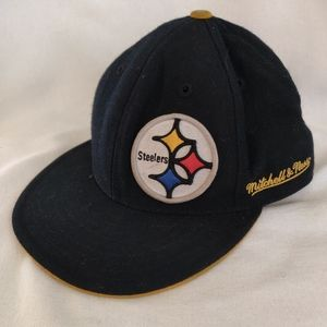 Pittsburgh Steelers NFL Mitchell and Ness hat. 7.